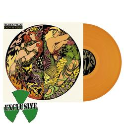 BLUES PILLS - Lady in Gold ORANGE VINYL  (EURO IMPORT)