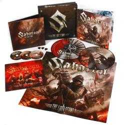 SABATON - The Last Stand EARBOOK + PIC DISC (EURO IMPORT)
