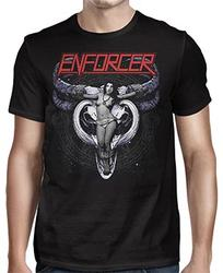 ENFORCER - Cow Girl Skull Shirt