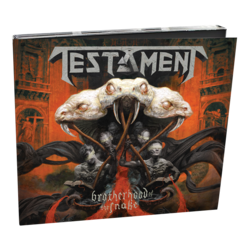 TESTAMENT - Brotherhood Of The Snake (Digipak)