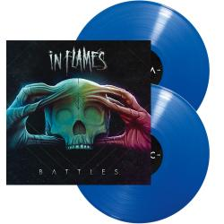 IN FLAMES - Battles BLUE VINYL (EURO IMPORT)
