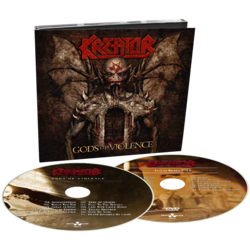 KREATOR - Gods Of Violence (CD+DVD Digipak)
