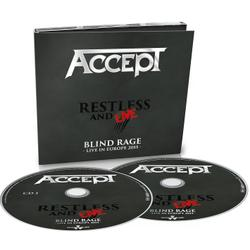 ACCEPT - Restless & Live - Blind rage - Live in Europe 2015