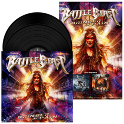 BATTLE BEAST - Bringer of Pain BLACK VINYL (EURO IMPORT)