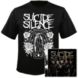 SUICIDE SILENCE - Suicide Silence CD+T-Shirt Bundle LARGE*