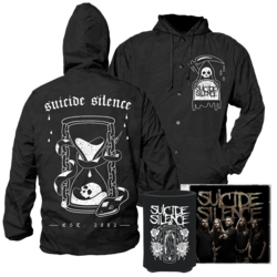 SUICIDE SILENCE - Suicide Silence CD+ Koozie+ Windbreaker SMALL*