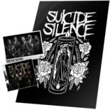 SUICIDE SILENCE - Suicide Silence CD+Flag+Photo Bundle*