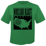 NUCLEAR BLAST AMERICA - Mangle Your Mind GREEN Shirt