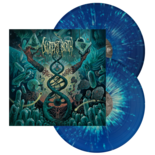 DECREPIT BIRTH - Axis Mundi (Blue/Yellow Splatter)