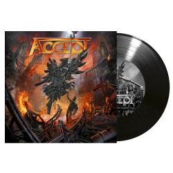 ACCEPT - The Rise of Chaos BLACK VINYL SINGLE (EURO IMPORT)