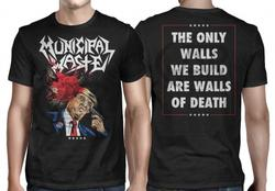 MUNICIPAL WASTE - Trump Walls of Death BLACK SHIRT