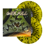 OVERKILL - The Grinding Wheel (Yellow w/Black Splatter Vinyl)