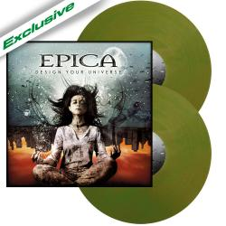 EPICA - Design Your Universe NB ANNIVERSARY GREEN VINYL