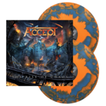 ACCEPT - The Rise Of Chaos (Orange/Blue Swirl)