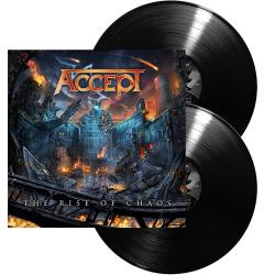 ACCEPT - The Rise of Chaos BLACK VINYL (EURO IMPORT)