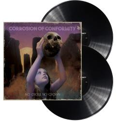 CORROSION OF CONFORMITY - No Cross No Crown BLACK VINYL (EURO IMPORT)