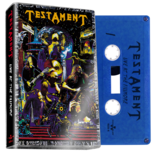 TESTAMENT - Live At The Fillmore (Blue Cassette)