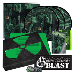 "VARIOUS ARTISTS - Gathered At The Altar Of Blast (7"" Box)"