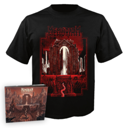 MEMORIAM - The Silent Vigil CD-Digi + T-Shirt Bundle XL