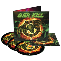 OVERKILL - Live in Overhausen BLURAY DIGIPAK