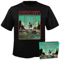 GRAVEYARD - Peace CD-Digi + T-Shirt Bundle SMALL