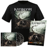 KATAKLYSM - Meditations CD-DVD+T-Shirt Bundle SMALL