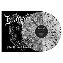 IMMORTAL - Northern Chaos Gods (Clear wBlkWht Splatter Vinyl)