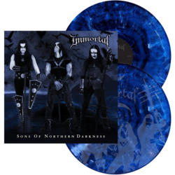 IMMORTAL - Sons Of Northern Darkness (Black and Blue Swirl)