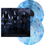 IMMORTAL - Sons Of Northern Darkness (Clear and Blue Swirl)