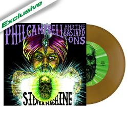 PHIL CAMPBELL AND THE BASTARD SONS - Silver Machine GOLD VINYL (EURO IMPORT)