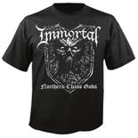 IMMORTAL - Northern Chaos Gods BLACK SHIRT