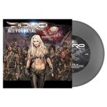DORO - All For Metal SILVER VINYL (EURO IMPORT)