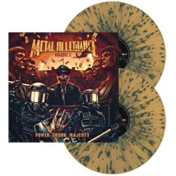 METAL ALLEGIANCE - Volume II: Power Drunk Majesty (Br/Blu Splatter)