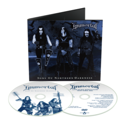 IMMORTAL - Sons Of Northern Darkness (CD/DVD Digipak)