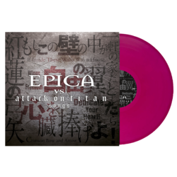 EPICA Epica vs Attack on Titan Songs VIOLET VINYL Import