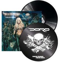 DORO - Forever United BLACK VINYL (EURO IMPORT)