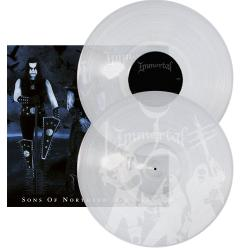 IMMORTAL - Sons of Northern Darkness CLEAR VINYL Import