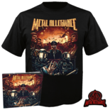 METAL ALLEGIANCE - Volume II: Power Drunk Majesty CD-Digi+Patch+M TS