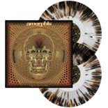AMORPHIS - Queen Of Time (Clear w/Orange & Black Splatter)