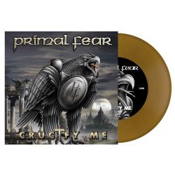 PRIMAL FEAR Crucify Me GOLD VINYL (EURO IMPORT)
