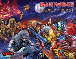 IRON MAIDEN - Legacy Of The Beast #5 Stern Pinball Comic Book