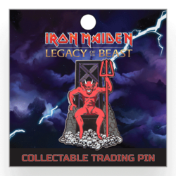 IRON MAIDEN - Legacy of the Beast: Beast Eddie Pin