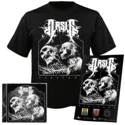 ARSIS - Visitant CD+ Poster+ XL T-shirt