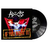 The Adicts - If You Want It BLACK VINYL