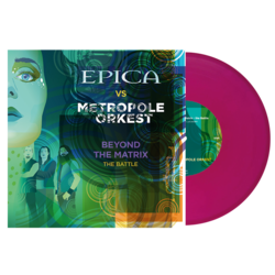 EPICA Beyond the Matrix - The Battle VIOLET VINYL Import