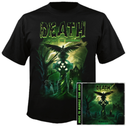 VARIOUS ARTISTS Death ...is Just the Beginning CD+MED T-Shirt