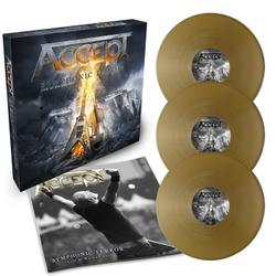 ACCEPT - Symphonic Terror - Live at Wacken 2017 GOLD VINYL