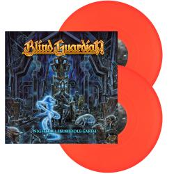 BLIND GUARDIAN - Nightfall in Middle-Earth NEON ORANGE VINYL IMPORT