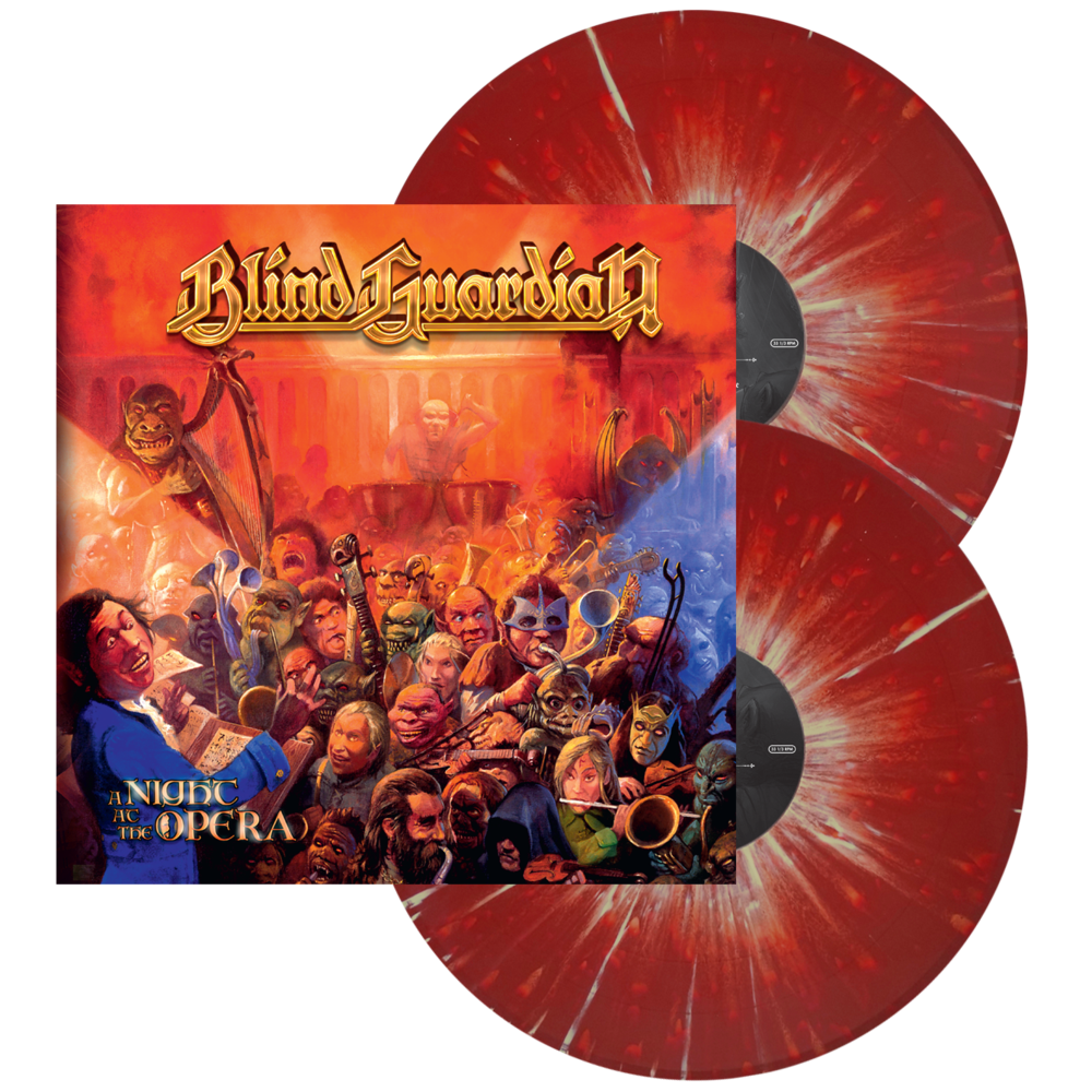 BLIND GUARDIAN | A Night At The Opera (Red w/Ylw Splat
