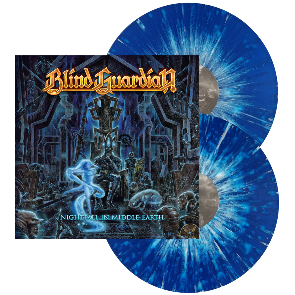 blind guardian nightfall in middle earth blu w wht splat nuclear blast usa store. Black Bedroom Furniture Sets. Home Design Ideas